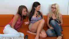3 ribanc barátnő