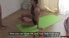 отличен урок по йога