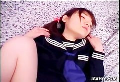 Minami Yuki, a szőrös puncis diáklány