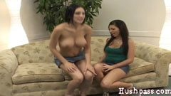 Mindy licks and fucks Francesca