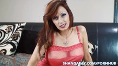 Shanda, the mother who loves anal