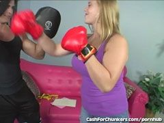 The fleshy female boxer