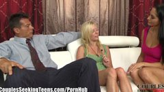 Ava Addams, the husband and the blonde girl