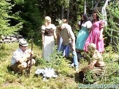 Alpine orgy