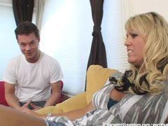 The milf wishes her stepson′s dick