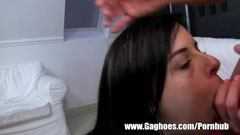 Great blowjob of Daniella Rose