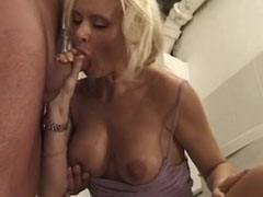 The anal mature blonde bitch