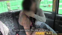 големи гърди мадама и шотландски таксиметровия шофьор