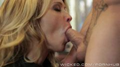 Jessica Drake fucks in the office