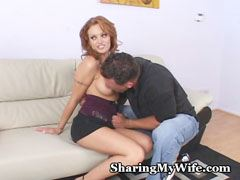 My wife is a real whore