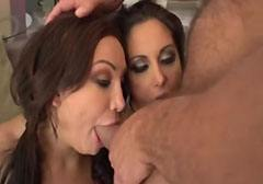 Anal sex with my stepmother and with a huge cock