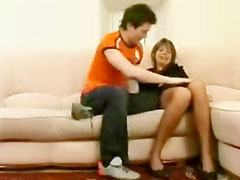 Руски мама и младото момче