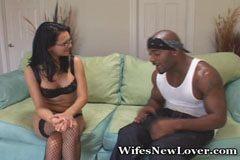 Белият съпругата и черно пениса