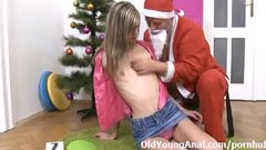 Lola and the anal santa claus