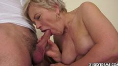 The youthful and horny grandmother