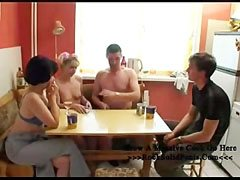 Family strip poker