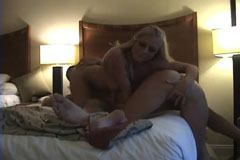 In the hotel in threesome