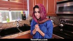 A muszlim lány meg a nagy répa
