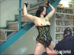 Extrême amateur poing sexe