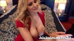 Julia Ann fucks with her husband