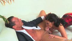 London Keyes and the businessman
