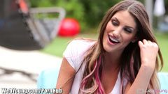 August Ames and the lesbian stepsisters