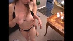 The nice milf gets fucked in the ass