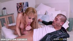 Alyssa Lynn, the horny and buxom milf