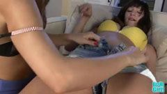 Holly Michaels and Riley Reid