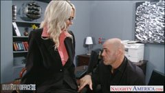 Emma Starr fucks in the office