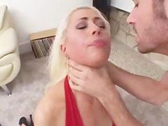 The little blonde loves rough anal