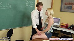The small tits Samantha and the teacher