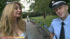 Полицаят и руса кучка
