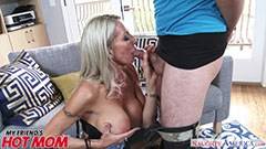 Emma fucks with her son′s boyfriend