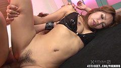 Akiho Nishimura, the hairy pussy girl