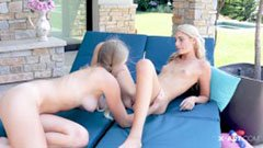 Kendall és Hanna, a két 18 éves leszboszi