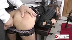 Den anal sekreteraren och chefen