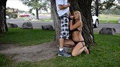 Public szex a parkban
