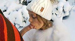 Szopás a hóban
