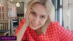 Med den ryska blondinen på Mcdonalds toalett