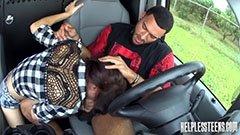 A stoppos lány és a sofőr