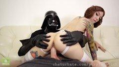 Jelmezes star wars szex